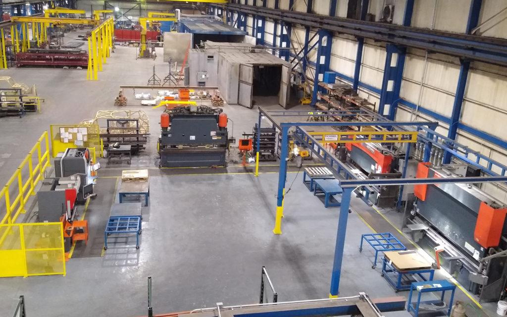 JWF Industries equipment