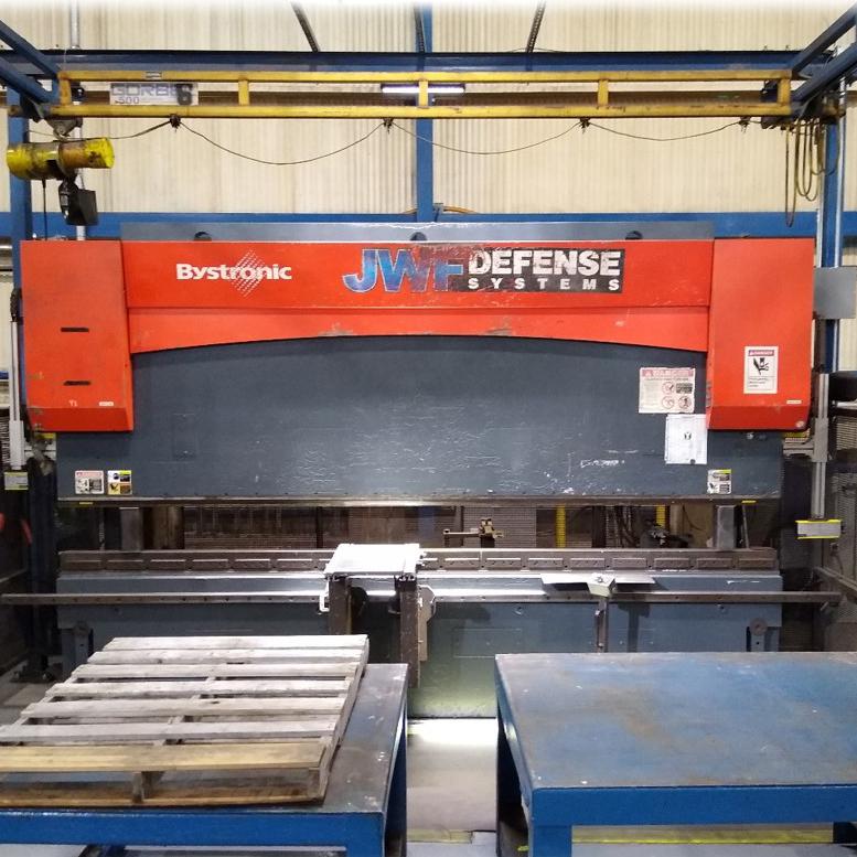 JWF Industries Bystronic PR 200 x 4100