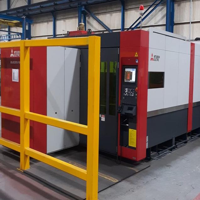 JWF Industries Mitsubishi 4020 RX Fiber Laser