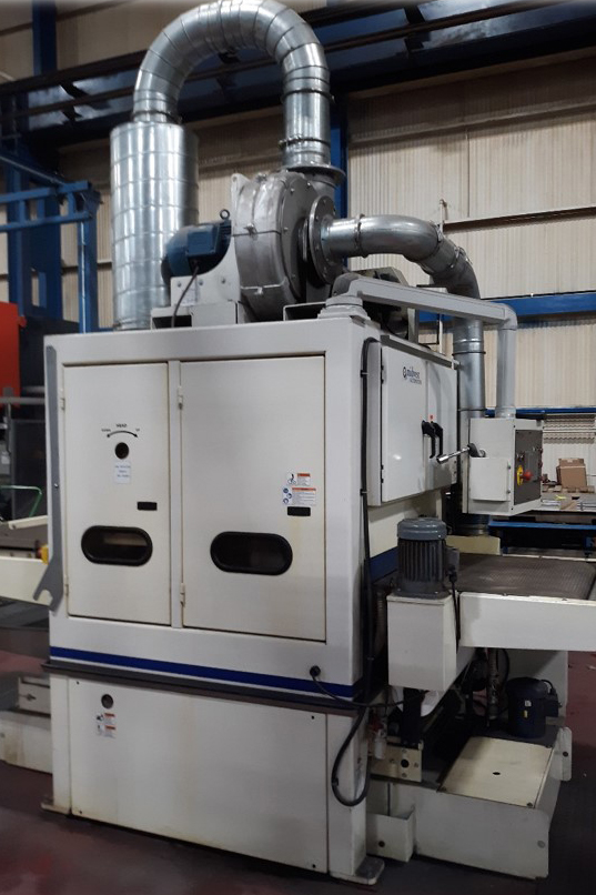 JWF Industries Nautilus 3775 Wet Deburring Machine