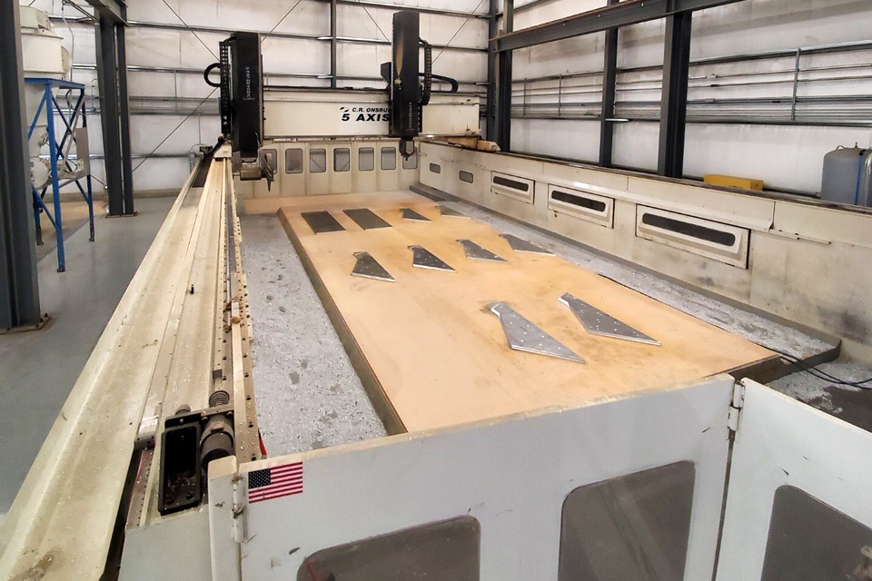 JWF Industries Onsurd 5-Axis Machining Center