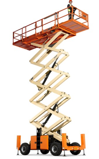 JWF Industries Commercial Scissor Lift Components